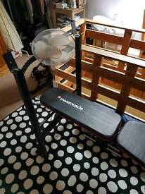 Maximuscle Weights Bench, Brand New