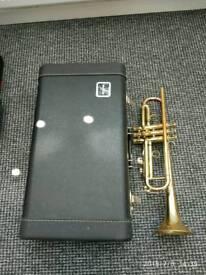 Trumpet e-benge resno tempered bell 3 costum built Los Angeles California