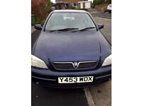 ASTRA VERY RELIABLE, ECONOMICAL, 5MNTH MOT, PART SERVICE HISTORY