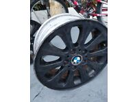 BMW 16 inch black alloy wheel
