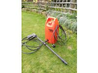 Black & Decker PW1300 pressure washer with lance, spares or repair.