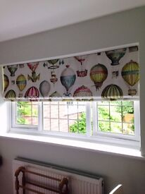 Homesew Soft Furnishings. Curtains and Roman Blinds hand made for your home