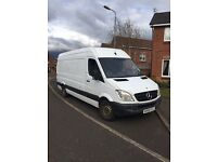 2008 (58) Mercedes sprinter LWB van