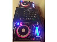 Numark ndx400 and Vestax mixer