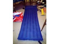 A single airbed in good condition just not needed any more