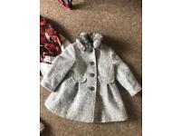 Sparkly silver 2-3 yr coat