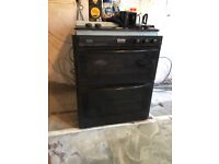 Stoves intergrated double oven and hob
