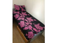 Single bed with mattress & drawer