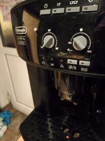 Delonghi Caffé Corso, bean to cup coffee machine for sale.