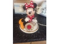 Minnie Mouse corded house phone