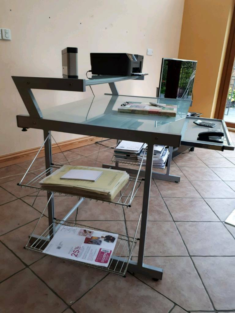 John Lewis Desk and Ikea office chair