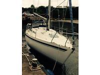Moody sailing yacht 31