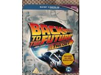 Back to the future trilogy blu Ray collection