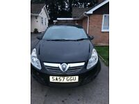 Vauxhall corsa 1.0 Life, Low Mileage and MOT until jan 2019!