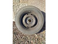 Wheel rim and tyre for Ducato, Boxer or Relay: 15 inch