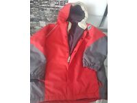 Red boys jacket