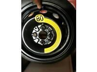 Hyundai spare tyre and wheel