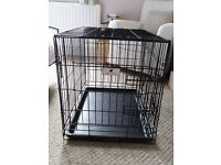 Small dog crate - good condition