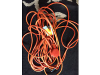 flymo 2 core replacement power lead