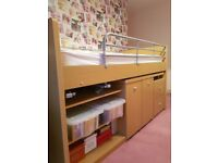 1 year old cabin bed
