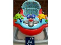 Mothercare 1st Baby Walker Exerciser & Activity Tray (age 6m-15m)