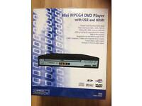 Mini MPEG 4 DVD player