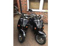 2002 Aprilia Habana Custom Mojitos 125 - Two for sale - Please read