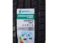 New 245 60 18 Junyu Tyre in West London Area