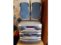 Personable stereo several yrars old still working in rrasonable condition hence price