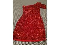 Red New look sparkley dress