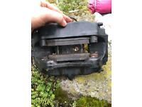 Bmw e38 front brembo brake calipers and near new pads for sale  Cumnock, East Ayrshire