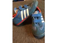 Adidas size 2 children's trainers