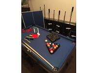 4ft Hy-pro multi games table