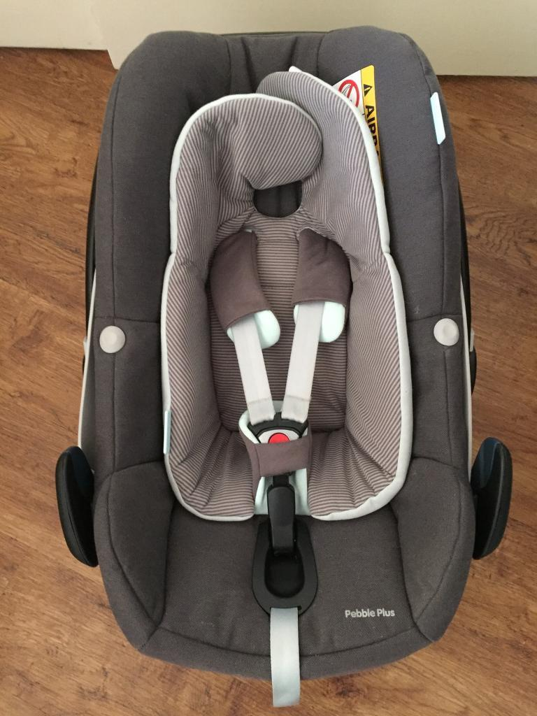 maxi cosi pebble plus infant car seat in fair oak hampshire gumtree. Black Bedroom Furniture Sets. Home Design Ideas