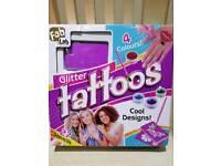 Fablab glitter tatoos