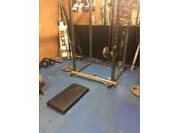 Squat Rack and Low/high pulley