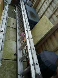 Youngman Industrial 500 Extension Ladder - 2 x 12 Rungs