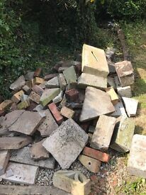FREE paving/bricks for borders or crazy paving