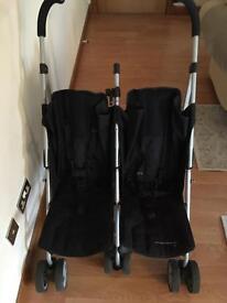 Mamas & Papas Double Buggy Stroller Pram