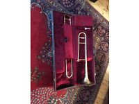 Boosey & Hawkes B&H400 Tenor Trombone with mouthpiece & hard case