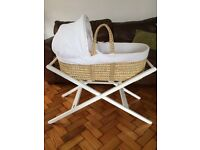 Moses basket from John Lewis