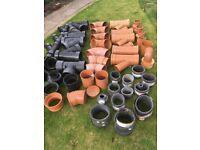 Various plumbing and drainage materials
