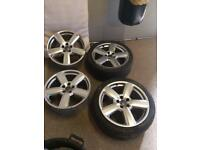 Alloy wheels 18 nich volkswagen