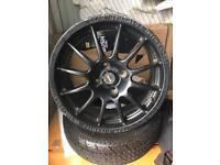 "4/108 team dynamics motorsport alloys 16"" ford Peugeot etc"