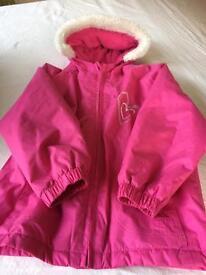 Girls waterproof coat