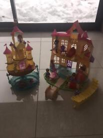 SOFIA THE FIRST CASTLE & FLOATING PALACE PLUS FIGURES