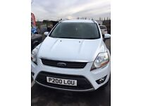 Ford Kuga 2.0 TDCi (140bhp) Zetec 2WD 5d 2012/62 Diesel in White
