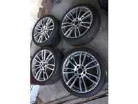 """19"""" BMW 3 series F40 M-sport style Alloy Wheels & Tyres (choice of 2 sets)"""