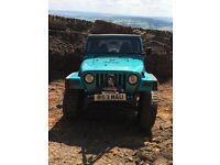 Jeep Wrangler tj 4.0