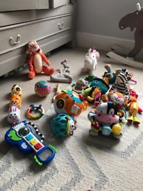 Baby toy clear out